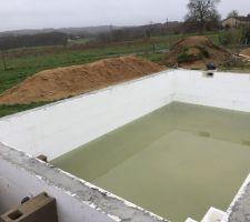 La piscine se remplit ? !!!!