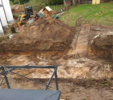 Excavation terminée