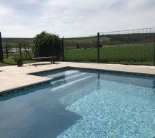 notre projet magiline 8x4 2016 pap les photos de la piscine. Black Bedroom Furniture Sets. Home Design Ideas