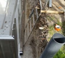 Drainage et puit