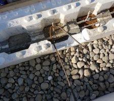Reprise des fers tors dans la structure