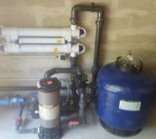 Filtration et traitement UV + Brome