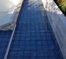 Préparation des terrasses piscine