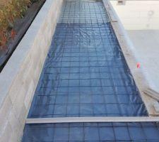 Préparation terrasses piscine