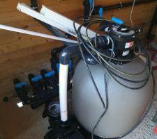 Installation du système de filtration