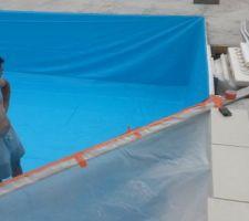 Préparation liner
