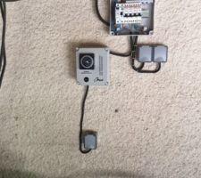 Coffret et raccordement électrique (j'ai posé un tableau secondaire alimenté en 6 mm2 depuis le tableau principal)