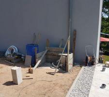 Construction du local technique