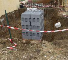 2 aout : livraison des blocs à bancher