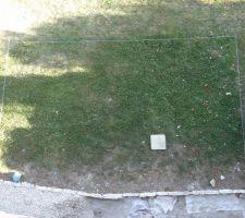 Vue du contour depuis la terrasse...