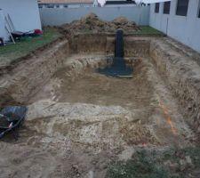 Terrassement piscine et décaissement des terrasse