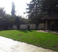 Le jardin avant