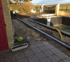 Préparation terrasse