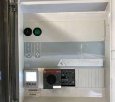 Coffret filtration Horloge numérique