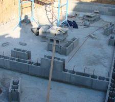 La construction a commencé !!!!!!