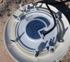 Vue globale fixation ampole LED