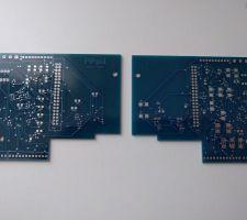 PCB pour pilotage relais, capteur de température, capteur de débit, ...