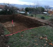 Terrassement précis dans une terre sans roche  : facile