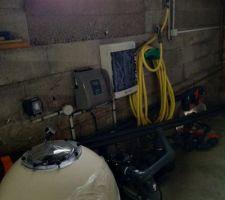 La filtration est posée dans le sous sol