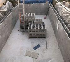 Montage bloc à bancher