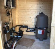 Système filtration piscine