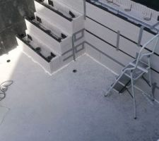 Escalier et plage