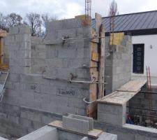 Construction du pool-house