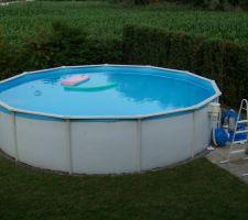 Notre ancienne piscine, snif......