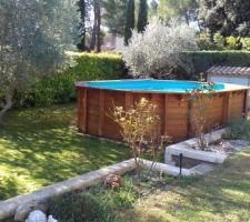 Ancienne piscine bois 6x4