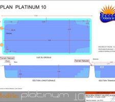 Plan de la piscine
