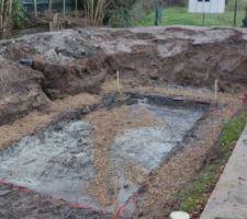 Terrassement et puits de décompression