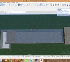 Couloir natation 12m