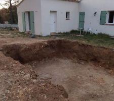 L'excavation est beaucoup plus impressionnante en vrai