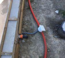 Gaines électriques pour les leds