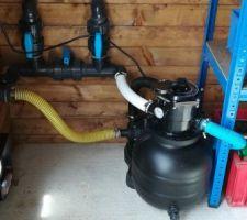 Groupe de filtration Aqualoon 8m3 /heure