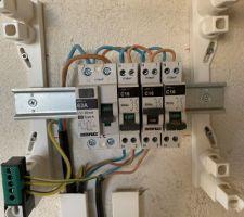 Raccordement électrique