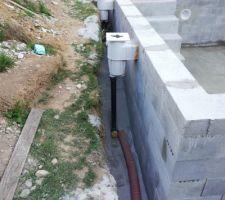 Remblayage au stabilisé pour protéger les tuyaux