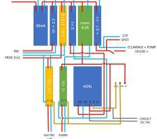 Plan electrique détaillé