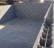 Murs bassin