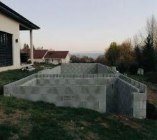 Elevation mur