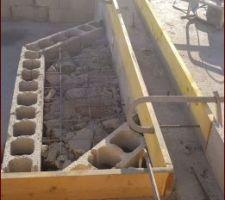 Construction escalier banquette