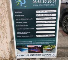 Retour positif de la Mairie de Pollionnay : les travaux décrits dans la Déclaration de Travaux sont acceptés.