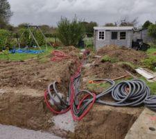 Préparation des tuyaux