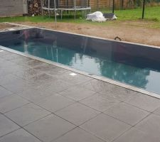 Remplissage de la piscine