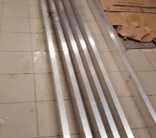 Barres alluminium