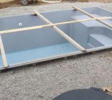 Préparation terrasses