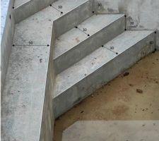 Cotes des escaliers