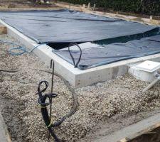 Préparation des plages de piscine et terrasses (85m2)