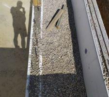 Montage des murs/plage