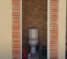 Les toilettes sont finis
